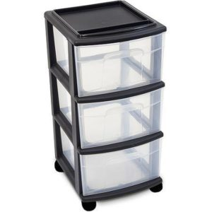 Plastic Drawer Set – 3 drawer