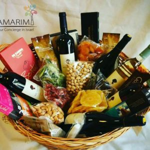 Kosher Gift Basket for Wedding in Israrel